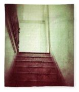 Mysterious Stairway Fleece Blanket