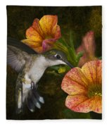 Mystical Flight Fleece Blanket