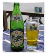 Mythos Beer Fleece Blanket
