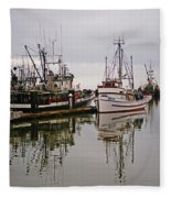 Nafco Fishing Boat Fleece Blanket