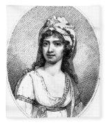 Nancy Storace (1765-1817) Fleece Blanket
