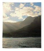 Napali Coast Sunrise Fleece Blanket