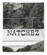 Natchez Fleece Blanket