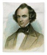 Nathaniel Hawthorne Fleece Blanket