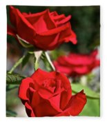 National Trust Rose Fleece Blanket