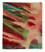 Native Abstract Weave Fleece Blanket