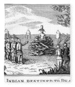 Native American Punishment Fleece Blanket