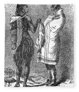 Native Americans: Flatheads Fleece Blanket