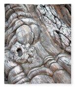 Natural Abstract 11 Fleece Blanket