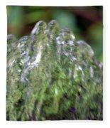Natural Abstract 35 Fleece Blanket
