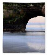 Natural Bridges Arch Fleece Blanket