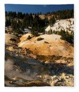 Natural Steam Engine Fleece Blanket