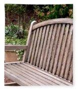 Natural Wood Fleece Blanket