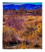 Nature At It's Best In South Platte Park Fleece Blanket
