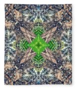 Nature Mandala Fleece Blanket
