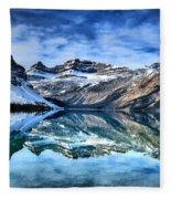 Nature's Abstract Fleece Blanket