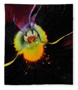Nature's Amazing Colors - Pansy Fleece Blanket