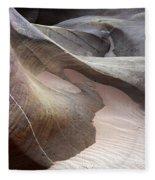 Nature's Artistry In Stone Fleece Blanket