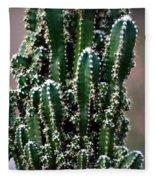 Nature's Cactus Abstract 2 Fleece Blanket
