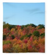 Natures Colors Fleece Blanket