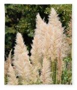 Nature's Feather Dusters Fleece Blanket