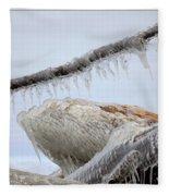 Natures Ice Sculptures 3 Fleece Blanket