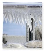 Natures Ice Sculptures1 Fleece Blanket