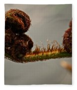 Nature's Red Carpet Unfurling Fleece Blanket