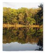 Natures Reflection Guatemala Fleece Blanket