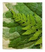 Nature's Still Life 3 Fleece Blanket