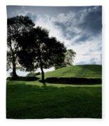 Navan Fort, Co Armagh, Ireland Fleece Blanket