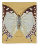 Nawab Butterfly Fleece Blanket