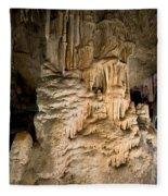 Nerja Caves In Spain Fleece Blanket