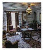 Nevada City Hotel Parlor - Montana Fleece Blanket