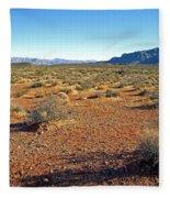 Nevada Desert Fleece Blanket