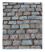 New Bedford Mass Brick Street 2006 Fleece Blanket