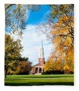 New England Style Fleece Blanket