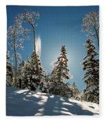New Fallen Snow Fleece Blanket