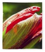 New Hibiscus Fleece Blanket