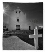 New Mexico Church Fleece Blanket