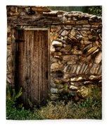 New Mexico Door II Fleece Blanket