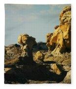 New Mexico Red Rock Fleece Blanket