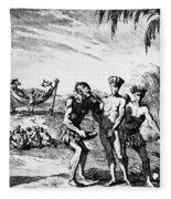New World: El Dorado, 1727 Fleece Blanket