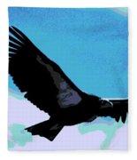 New World Vulture Fleece Blanket