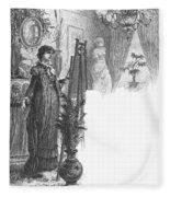 New York: Artist, 1882 Fleece Blanket