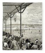 New York: Baseball, 1886 Fleece Blanket