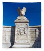 New York Monument Fleece Blanket