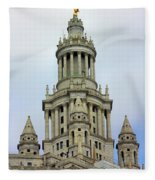 New York Municipal Building Fleece Blanket