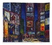 New York Nights Fleece Blanket