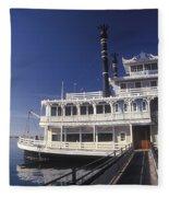 Newport Harbor Nautical Museum - 1 Fleece Blanket